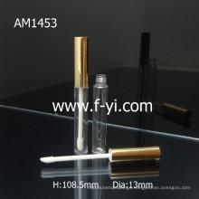 Slin Golden Lid Custom Aluminum Lip Gloss Tube