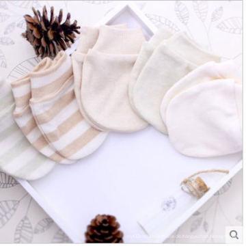 Süße Bio-Baumwolle Handschuhe für Neugeborenes Baby