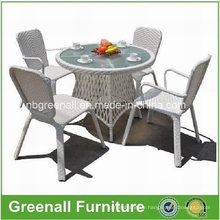 Outdoor Rattan Wicker Chair and Table