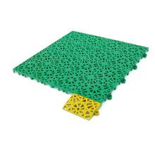 Suelo de plástico suspendido