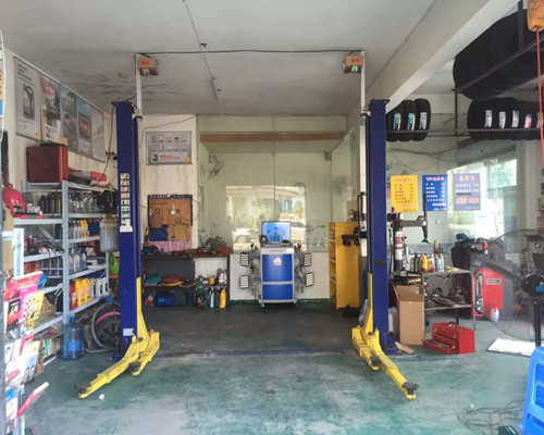 Two-post Lift Wheel Alignment Solution