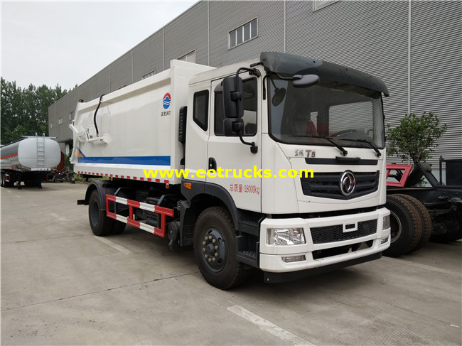 10000L 5 Ton Garbage Compression Trucks
