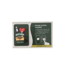 Горячая продажа микрофибры мобильный очиститель экрана печатной площади липкий