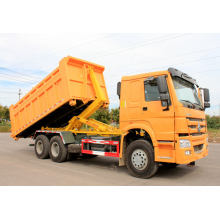 Sinotruk Howo Carriage Removable Garbage Disposal Truck