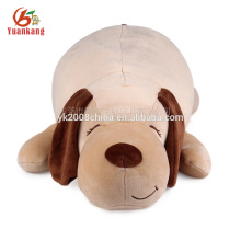 China custom wholesale super soft pillow style plush dog stuffed toy