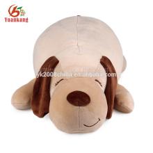 China personalizado atacado super macio travesseiro estilo de pelúcia brinquedo de pelúcia cão