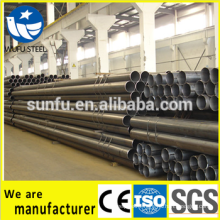 carbon welded black iron pipe manufacture