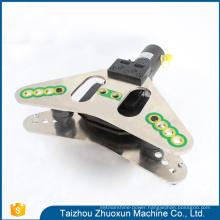 2017 Best Hydraulic Tools Brass Bending Busbar Punching Tool Manual Copper Shearing Machine
