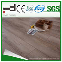 Classical HDF Glossy Light Brown Laminated Flooring