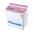 Pink Glass Cover 6KG Twin Tub Mesin Cuci