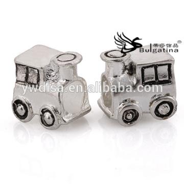 Perles de métal en forme de voiture à vendre Prix de gros 2014 Perles en métal Derniers résultats de bijoux de design
