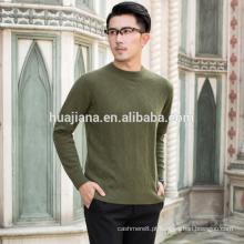 Camisola de confecção de malha de cashmere do homem da moda de 2017