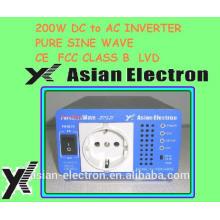 Einphasenausgang 24VDC 200W Wechselrichter 120VAC 60Hz