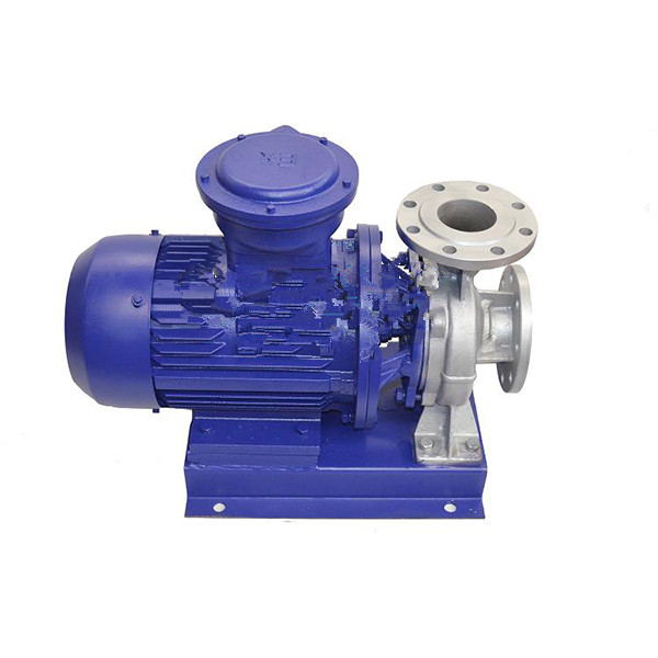ISWH explosion-proof chemical stainless steel pipeline pump horizontal chemical pump 1