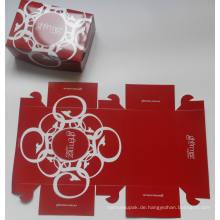 Faltender Kuchen-Kasten / Schnellimbiß-Kasten / Karten-Vorstand-Imbiß-Kasten