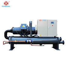 180 ton water cooled screw industrial chiller