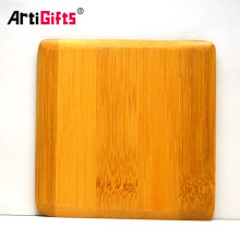 Cheap customized square wooden coasters