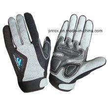 Sports Cycling Mountain Bike Motorcycle Gel Pads Full Finger Glove