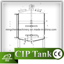100L-20000L Stainless Steel Storage Tank with Movable Casters/Storage Tank