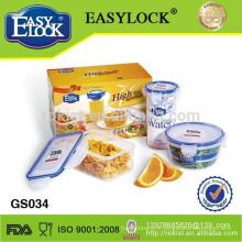 3pcs set plastic food storage container set