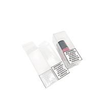 Caixas de embalagem dobráveis de plástico transparente personalizado