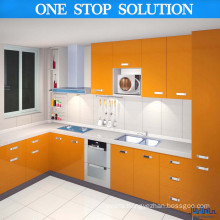 Throughout Brigth Yellow Kitchen Cabinets