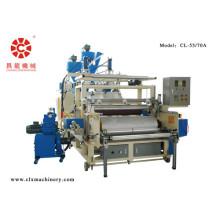 Mudança de rolo automático de filme estirável faz a máquina