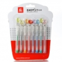 8PCS Color Mini Gel Pen With Star
