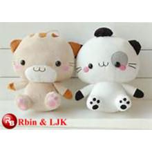 OEM soft ICTI plush toy factory cat lovely plush toy