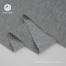 Tecido de lã de algodão francês Terry poli para Shorts