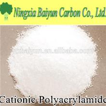 Polvo de poliacrilamida catiónico en polvo para tratamiento de agua potable