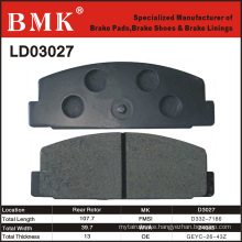 High Quality Brake Pads (D3027) for Mazda