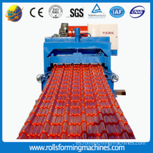 Aluminium Roof Trapezoid Tile Making Machine