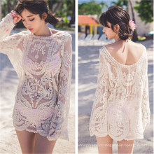 Korean Style Bikini Dress Shirt Blouse Beach Wears (50167)