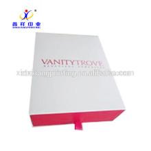 Les boîtes d'emballage disponibles de boîte de papier de tiroir adaptées aux besoins du client