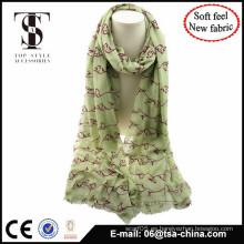 MATERIAL NUEVO material mezclado con el mantón flocado de la sensación suave el mantón grande del tamaño