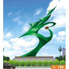 Modern Abstract Arts Stainless steel304 Sculpture for Garden decoration