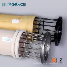 Kundenspezifischer P84 Stoff Staub Sammler Filterbeutel Käfig