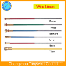 миг сварки частей горелки Бинзель провода лайнера 0.8-1.0