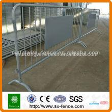 Galvanized Crowd Control Barrier