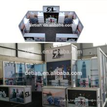 L'exposition de Detian offre l'exposition portative d'exposition de stand de l'exposition 10X20ft