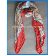 Леди подарок вискозной печати квадратный шарф завод
