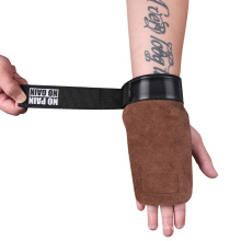 High Quality Grip Belt Cowhide Palm Protector Fitness Equipment Non-Slip Wear-Resistant Wristband
