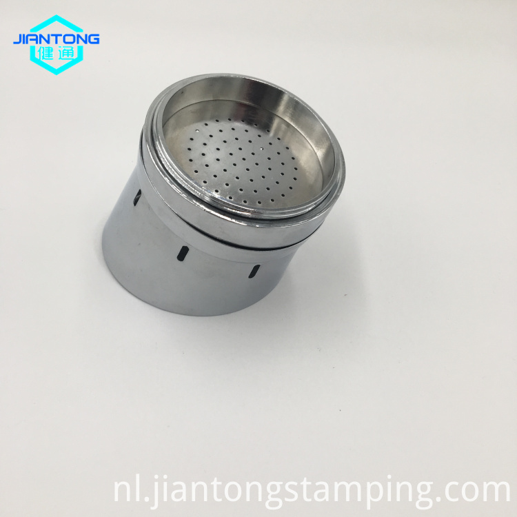 Stainless Steel Chromed Plated Deep Drawn Custom Parts Precision Metal Stamping
