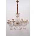 Lampes suspendues en cristal délicat K9 d'intérieur de style européen