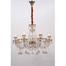 European Style Indoor Delicate K9 Crystal Pendant Lamps