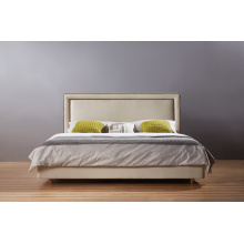 Latest Fashion Double Bed, Fabric Bed (A21)