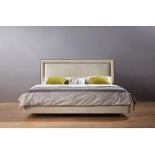 Последней моде двуспальная кровать, ткань (A21)