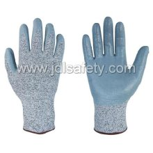 Anti-Cut Work Glove with Smooth Nitrile (PD8033)