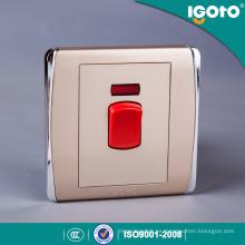 Británico Estándar BS 1gang 45A Dp Interruptor de Cocina Interruptor de Cocina